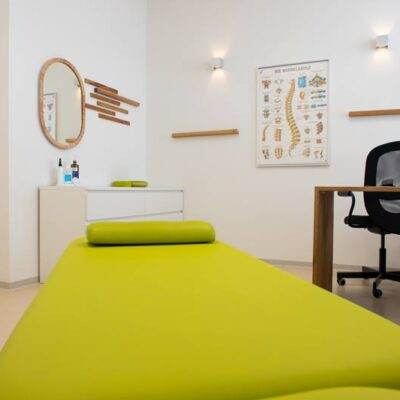 Behandlungsraum Physio Heilbronn